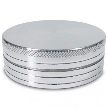 Alu CNC Grinder 2-Part Natur / Silber