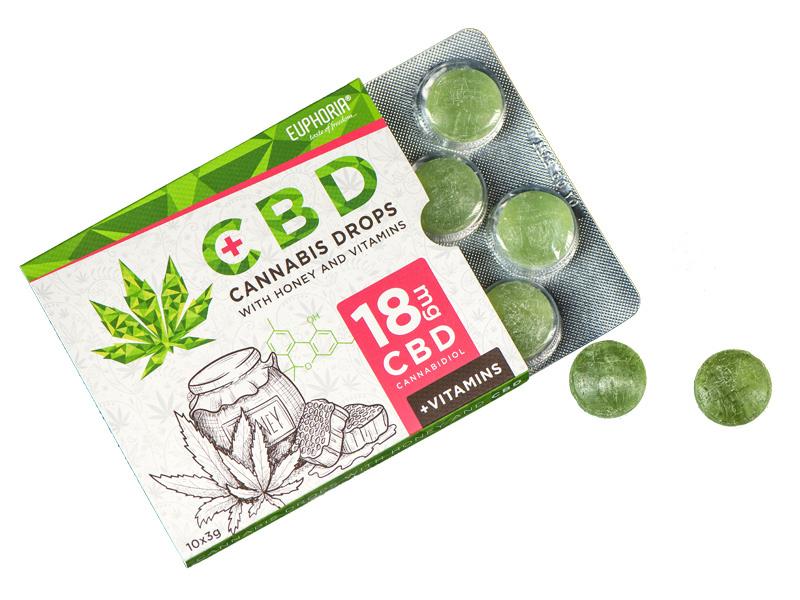 CBD-Drops 10x3g (CBD 18mg)