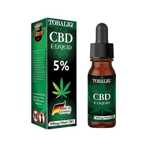 CBD E-Liquid – 5 % TQ, 10ml