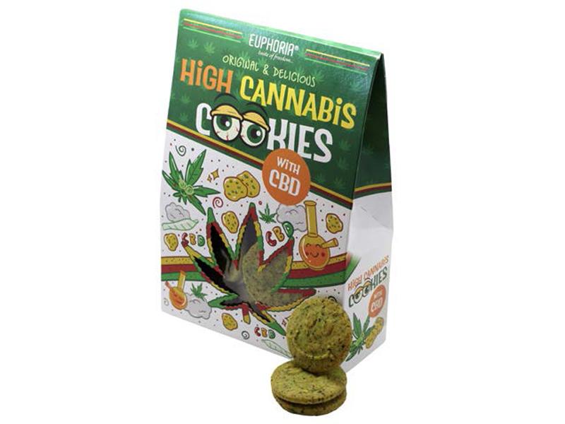 CBD High Cannabis Cookies, 100g