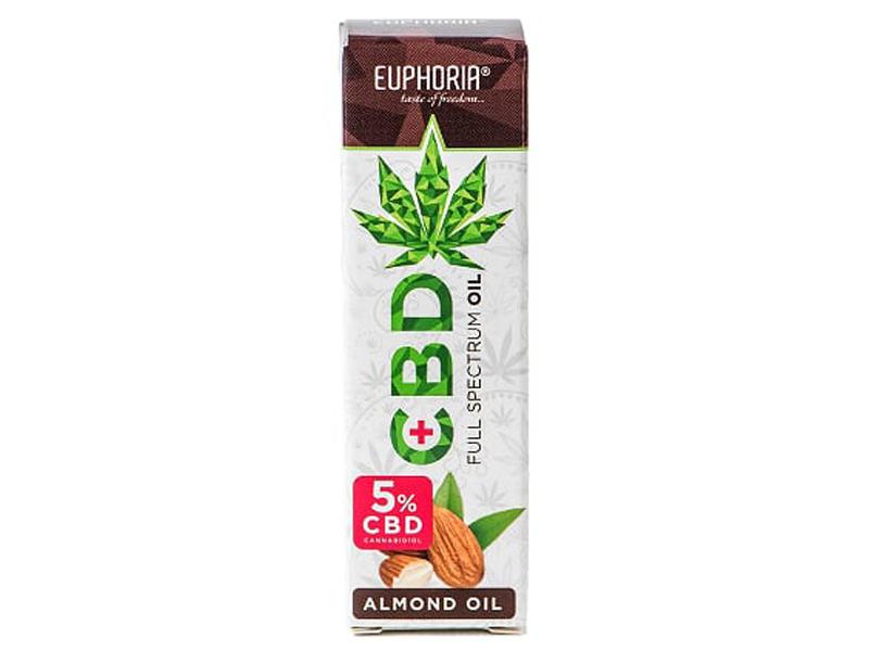 CBD-Mandel-Öl 10ml (CBD 5%)