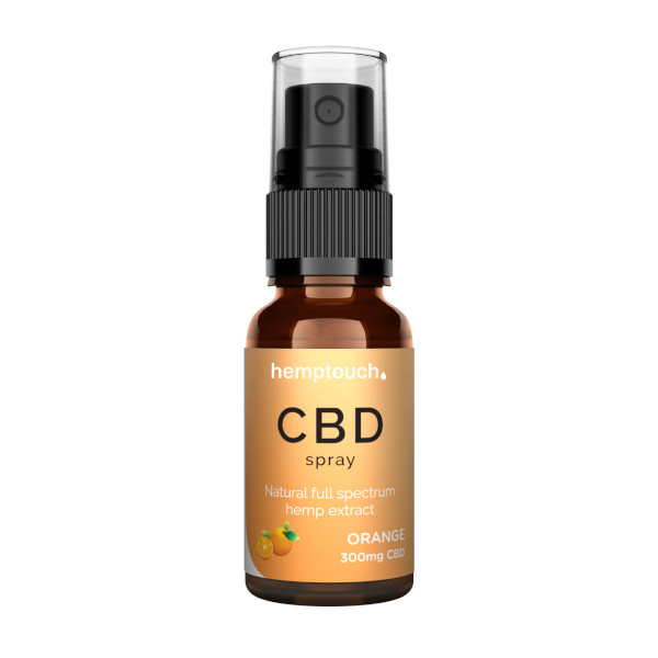 CBD Spray Orange 300mg 20ml (Vollspektrum CBD)