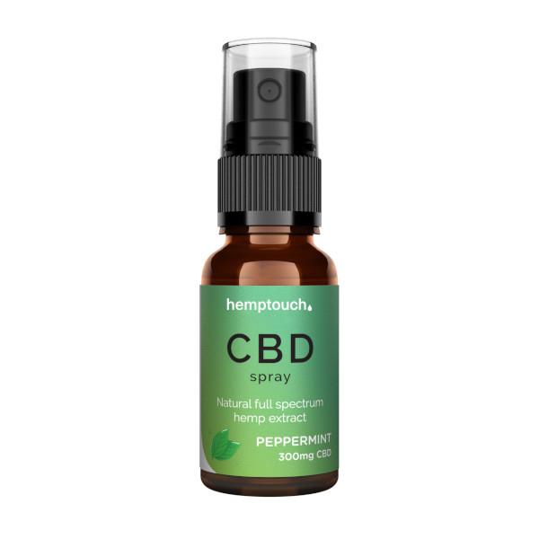 CBD Spray Peppermint 300mg 20ml (Vollspektrum CBD)