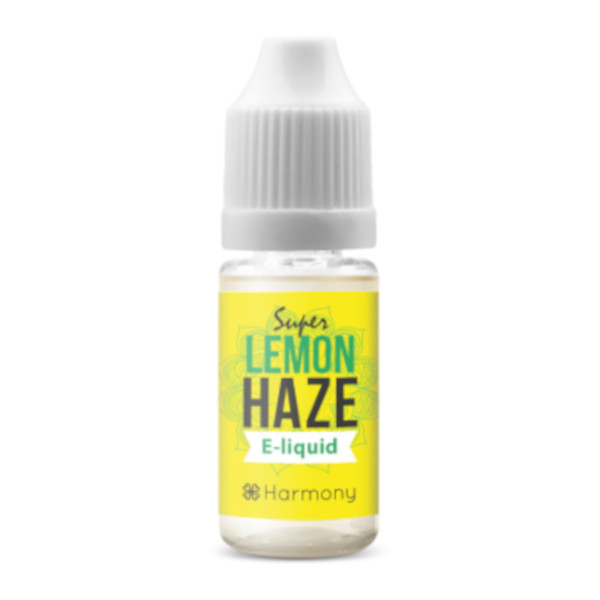 Harmony CBD Liquid – Sorte: Super Lemon Haze – 30mg CBD – 10ml – nikotinfrei
