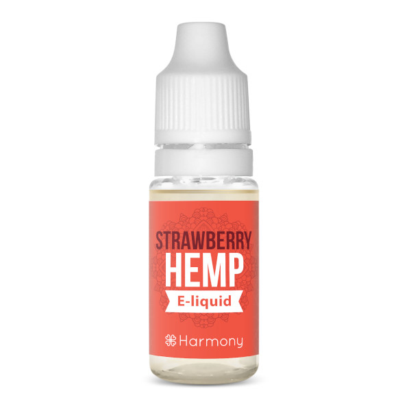Harmony CBD Liquid – Sorte: Wild Strawberry – 100mg CBD – 10ml – nikotinfrei