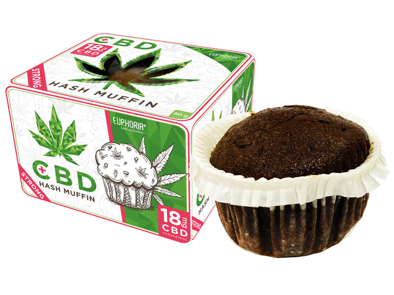 MARY & JUANA Cannabis-Schoko-Muffin, 84g