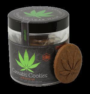 Cannabis Cookies Hashish -Getreidekekse mit Cannabis