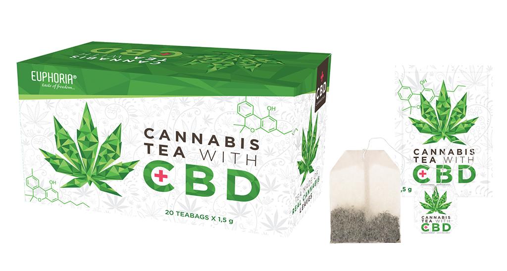 Cannabis Tea with CBD