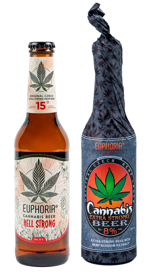 Cannabis Beer extra String Wrap 330ml